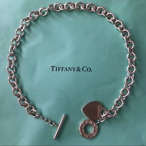 Tiffany & Co. Heart Tag Charm Necklace
